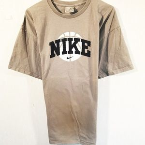 Nike XL Light Gray T-Shirt Design on Front & Back